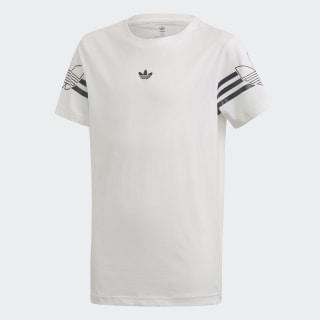 T-shirt Outline White / Black DW3830
