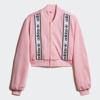 JACKET CROPPED BOMBER Light Pink DZ0095