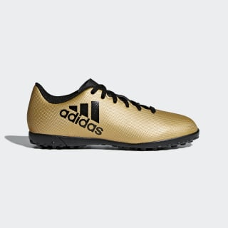 Guayos X Tango 17.4 Césped Artificial TACTILE GOLD MET. F17/CORE BLACK/SOLAR RED CP9043