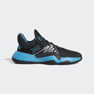 D.O.N. Issue #1 Shoes Core Black / Hi-Res Aqua / Silver Met. FU7156