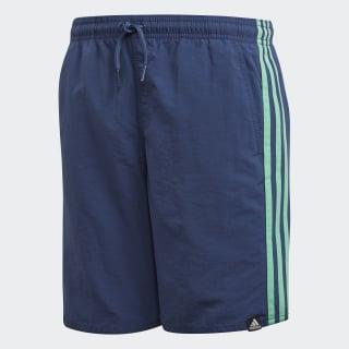 Shorts de Baño 3 Franjas NOBLE INDIGO S18/HI-RES GREEN S18 CV5201