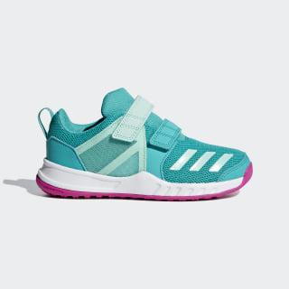 FortaGym Shoes Hi-Res Aqua / Clear Mint / Real Magenta AH2569