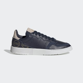 Supercourt Shoes Collegiate Navy / Crystal White / Gold Met. EG5022