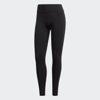 Believe This Regular-Rise Climachill Tights Black CD3130