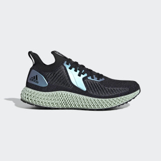 Zapatilla AlphaEDGE 4D Core Black / Glory Blue / Collegiate Purple FV6106