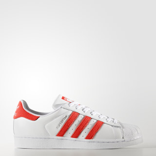 Tenis Superstar FTWR WHITE/SOLAR RED/SOLAR RED BZ0191