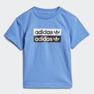Tričko Real Blue ED7722