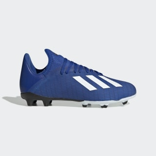 X 19.3 Firm Ground Cleats Team Royal Blue / Cloud White / Core Black EG7152