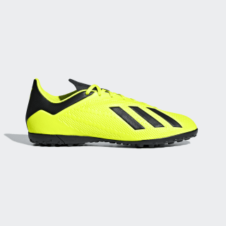 Zapatos de Fútbol X Tango 18.4 Césped Artificial SOLAR YELLOW/CORE BLACK/FTWR WHITE DB2479