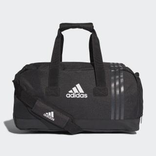 Tiro Duffle Bag Small Black / Dark Grey / White B46128