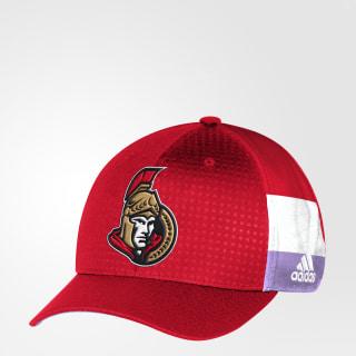 Hockey Fights Cancer Senators Structured Flex Cap Red DB9954