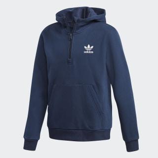 1/2 Zip hoodie Collegiate Navy / White DH2701