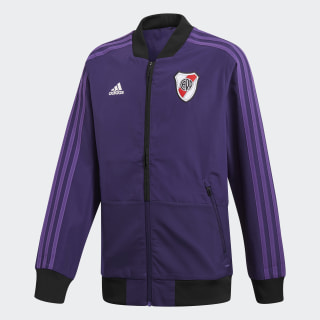 Campera de Presentación Club Atlético River Plate DARK PURPLE/POWER PURPLE CW5683
