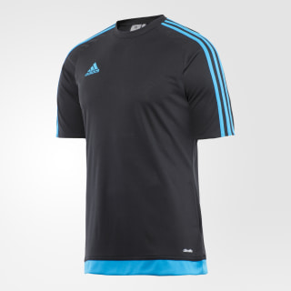 Camisa Estro 15 BLACK/SOLAR BLUE2 S14 BP7197