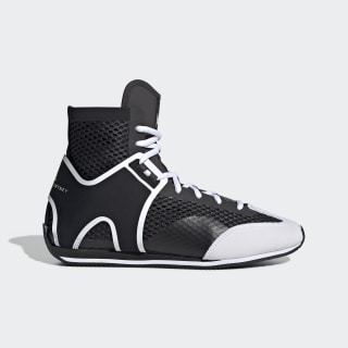 Sapatos de Pugilismo Black White / Cloud White / Pearl Grey EG1060