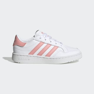 Team Court Shoes Cloud White / Glory Pink / Core Black EF6823