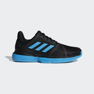 Tenis CourtJam Bounce M clay Core Black / Shock Cyan / Ftwr White CG6362