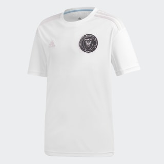 Inter Miami CF hjemmebanetrøje White / Clear Pink EH8629