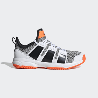 Stabil JR Shoes Cloud White / Core Black / Solar Orange F33830