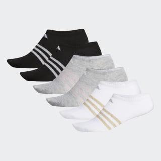 Superlite No-Show Socks 6 Pairs Multicolor CK0642