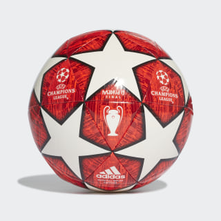 UCL Finale Madrid Capitano Ball Off White / Power Red / Solar Red / Active Red DN8674