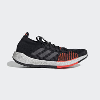 Tênis Pulseboost HD Core Black / Grey / Solar Red F33909