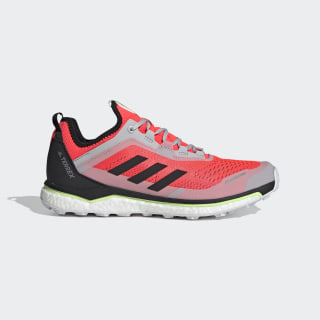 Terrex Agravic Flow Shoes Solar Red / Core Black / Grey Two EF2116