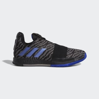 Harden Vol. 3 Shoes Core Black / Active Blue / Solid Grey G26811