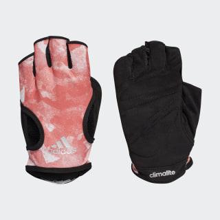 Climalite Graphic Gloves Pink/Trace Scarlet/Black/Vapor Grey Metallic CF6144