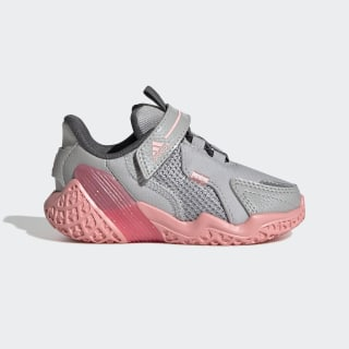 4UTURE Runner Shoes Grey Two / Glory Pink / Grey FV2787