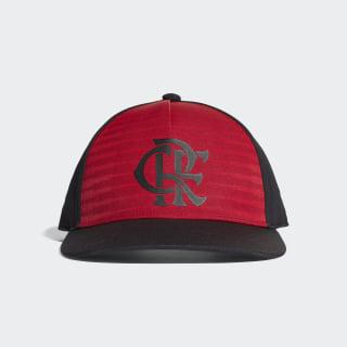 Boné CR Flamengo BLACK/SCARLET CY5544