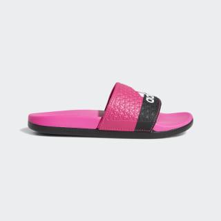 Sandale adilette Cloudfoam Plus Shock Pink / Cloud White / Core Black B44875