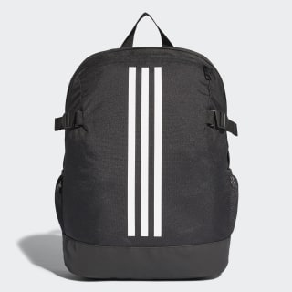 3-Stripes Power rygsæk, medium Black / White / White BR5864