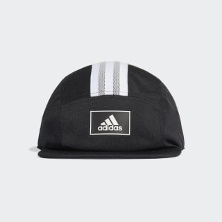 Five-Panel adidas Athletics Club Kappe Black / White / Grey Two FK0867