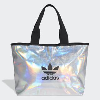 Bolsa Shopper Metalizada Silver Metallic / Iridescent FL9630
