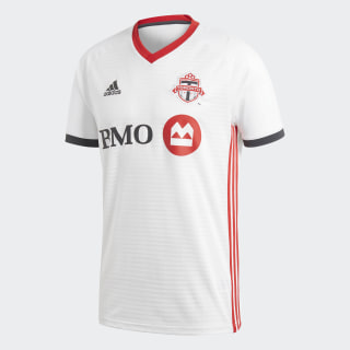 Toronto FC Away Jersey White / Scarlet / Solid Grey CE7853