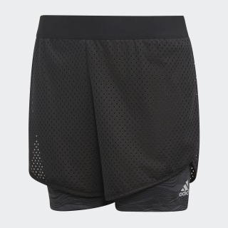 SHORTS (1/4) YG RUN SHORT BLACK/CARBON S18 DJ1096