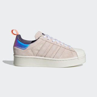 Superstar Bold Girls Are Awesome Ayakkabı Cloud White / Signal Coral / Icey Pink FW8084
