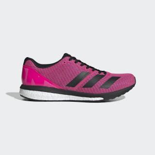 Adizero Boston 8 Wide Shoes Shock Pink / Core Black / Cloud White F34059