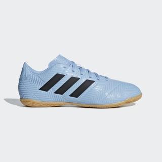 Chuteira Nemeziz Messi Tango 18.4 Futsal ASH BLUE S18/CORE BLACK/RAW GREY S18 DB2274
