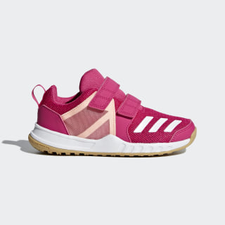 FortaGym Shoes Real Magenta / Cloud White / Clear Orange AH2561