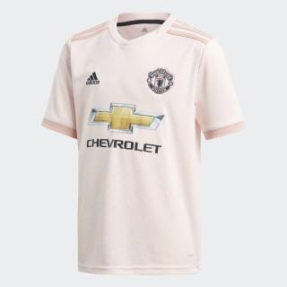 Camiseta de Visitante Manchester United 2018 Niño ICEY PINK F17/TRACE PINK F17/BLACK CG0055