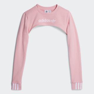 Свитшот SHRUG SWEATER light pink DZ0098