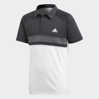 Colorblock Club Polo Shirt White CY9215