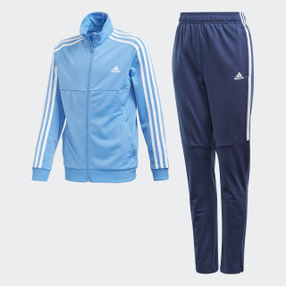 Tiro Track Suit Lucky Blue / White FM5722