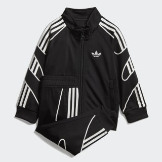 Flamestrike Track Suit Black / White DV2836