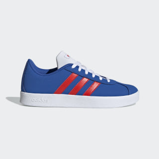 Zapatillas VL Court 2.0 Blue / Active Red / Cloud White EE6902