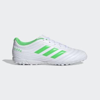 Calzado de Fútbol Copa 19.4 Pasto Sintético Cloud White / Solar Lime / Cloud White D98072