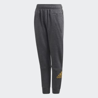 Брюки для фитнеса ID HLD dark grey heather / gold met. ED6406