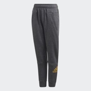 ID HLD Pants Dark Grey Heather / Gold Metallic ED6406